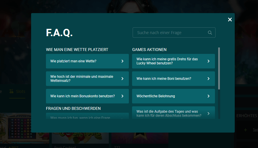 22bet Casino FAQ